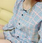 山川恵里佳、実家で借りたメルヘンなパジャマ「子供ウケ…ないすでーーす」
