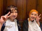 """野沢直子、清水ミチコらとイカ墨料理を食べ""""ゴスくちびる""""で帰宅「誰か言ってくれよ」"""