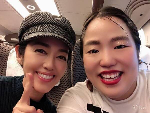 早見優、新幹線で遭遇した人物に驚き「最高な1日となりました」