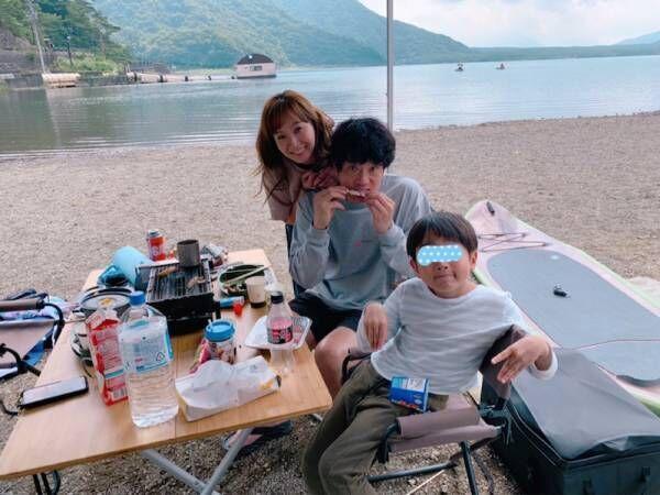 藤本美貴、家族キャンプで大興奮「家族の時間を過ごせるのって凄く幸せ」