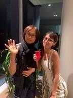 吉川ひなの、つんく♂ファミリーとたこ焼きパーティー「幸せなひととき」