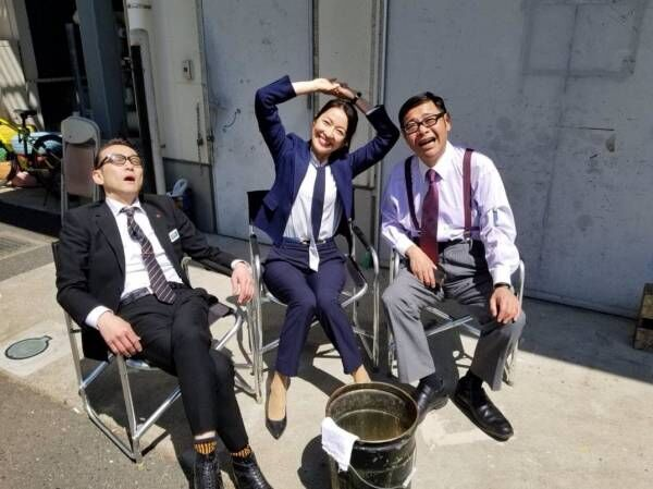 羽田美智子『特捜9』の日向ぼっこショットに「ほっこり」の声
