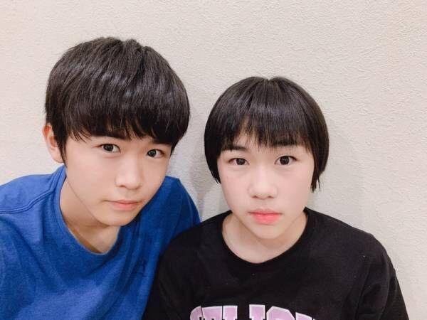 鈴木福、バッサリ髪を切った妹と2ショットに「どっちが福くん?」「コピーしたみたい」の声