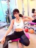 大貫彩香、トレーニングへ行きへそ出しショット公開「お尻の筋肉を鍛える工程がお気に入り」