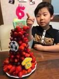 遠藤航、長男が6歳の誕生日を迎え「ますます顔が俺に近づいてきてる」