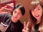川崎希&アレク、1人1万2000円の高級ランチに大興奮「ちょ~豪華」