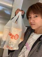 杉浦太陽、妻・辻希美へのお土産に東京駅でタピオカを購入「メッサ並びましたw」