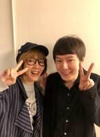 戸田恵子、小日向文世の息子との2ショット公開「今はもう抱っこできないねー!笑」