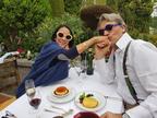 中村江里子、久々に夫と2人で食事「普段、業務連絡状態だから(笑)」