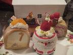 クリス松村、自分のためのクリスマスケーキを4つ購入「生地感が素晴らしく」
