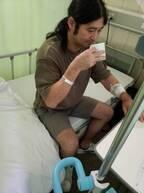 ハイキングウォーキング松田、相方・Q太郎が入院中の様子を明かす「下剤をちびちびやってトイレ行く」