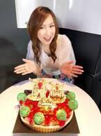 """森口博子、""""寿司ざんまいポーズ""""で51歳の誕生日をお祝い「か、か、感動です!」"""