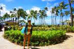 高橋ユウ、ハワイで着た水着姿を披露「ヤシの木と空の青さが嘘みたいに綺麗」