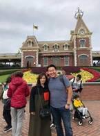 花田虎上、家族で香港ディズニーランドへ「中華料理はなかなか美味しい」