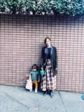 安田美沙子、息子との2ショットを公開し「モデルさんになれるかな?」