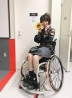 猪狩ともか、武井壮から車椅子のプレゼント「ピカピカ光ってかっこいいんです!」