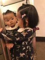 PINKY、娘が夫・窪塚洋介と表紙デビュー「今より少し小さいね」