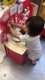 金田朋子、娘が夢中になっているおもちゃを紹介「将来お料理好きになるかも」