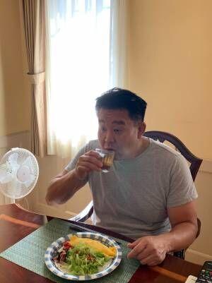 花田虎上、1番好きな家のオムレツ「今日のオムレツはチキンが入っていました」