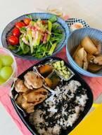 生田智子、夫・ゴン中山に作った弁当を公開「チキンのガーリックソテー 南瓜の煮物」