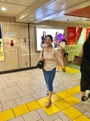 金山一彦、妻・大渕弁護士を待ち伏せして撮った写真を公開「一瞬の出来事でした」