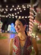 アンミカ、ハワイで2度目のクリスマスを満喫「電飾に負けないように」