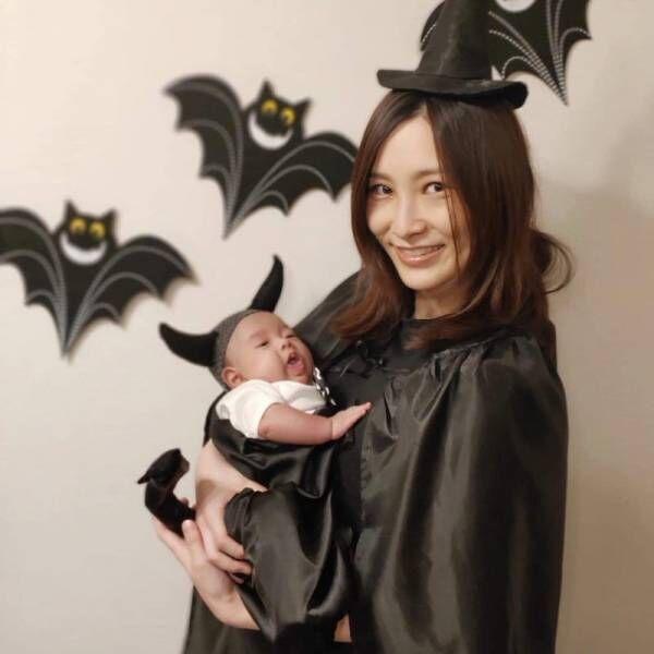 はあちゅう氏、息子とのハロウィン仮装を公開「かわいい~!」「天使ですね」の声