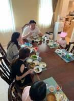花田虎上、遊びに来た長女&次女らとGWを満喫「総勢六人で賑やかに」