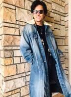稲垣吾郎、香取慎吾から貰ったデニムコート姿に「ワイルド」「お洒落」の声