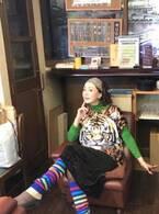 とよた真帆、ドラマ『後妻業』の派手な衣装を公開「ワクワクします(笑)」