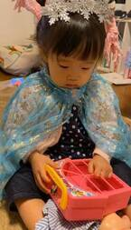 金田朋子、娘と一緒にママ友の自宅へ「サイコーの一日でした!」