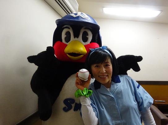 つば九郎、磯野貴理子を心配し始球式のオファー「おたがいさちあれ」