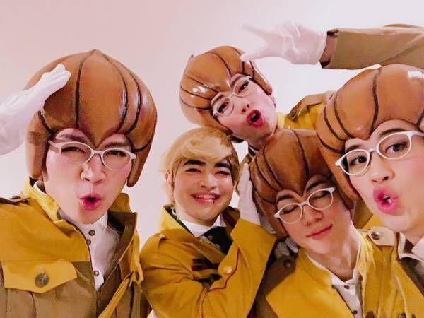 映画『パタリロ!』加藤諒らとの集合ショットを公開「衝撃のシーンがあるみたい(笑)」