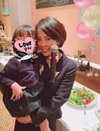 大和田美帆、娘の卒園式で涙「泣かずになんかいられるかーい!」