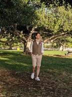 小林麻耶、ウェディングフォト撮影での夫のオフショットを公開「我ながら、よく撮れました」