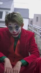 『オオカミくん』に出演していたモデル・きいた、ジョーカーの仮装を披露「やるからには本気で」