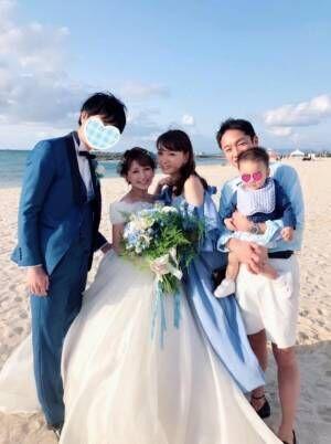 保田圭、親友・矢口真里の結婚式に出席し「グッときてしまいました」