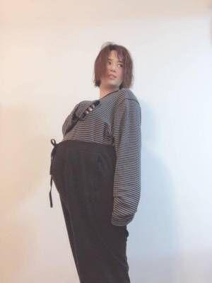 双子妊娠の蒼井そら、メンズの3XLサイズを購入「凄いよ自分のゆるキャラ感が(笑)」