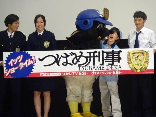 つば九郎、共演した磯野貴理子に目隠し「そ~っとしてあげて~」