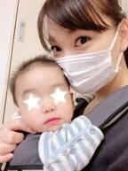"""保田圭、医師の顔を見て息子が""""ギャン泣き""""するも「ちょっぴり感動」"""