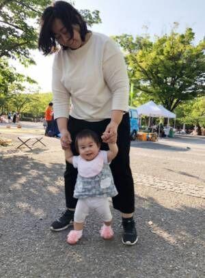 東尾理子、次女・つむぎちゃんの近況を明かす「歩きたい欲がどんどん増してます」