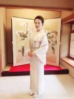 河野景子さん、応援のコメントに感謝 着物ショット公開に「綺麗」「とってもお似合い」の声