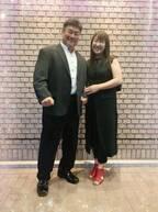 北斗晶、誕生日を迎えた夫・佐々木健介と夫婦2ショット「素敵な笑顔」「お似合い」の声