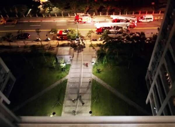 インリン、住んでいるマンションの火事でパニック「消防車と救急車が何台も来ていた」