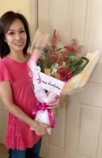 花田虎上、妻の誕生日にサプライズ「今年は無事に成功しました」