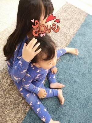 蛯原英里、娘と息子のお揃いパジャマを紹介「大人用もあれば良いのに(笑)」