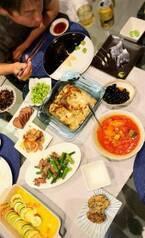 夫・宮本和知コーチのために支度した2回目の夕飯「少しずつ色々なおかずを」