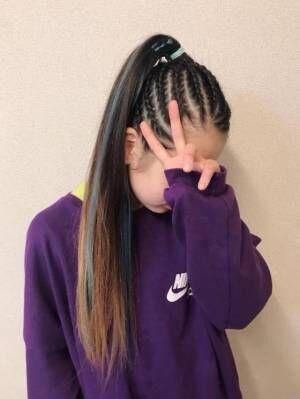 """ギャルママ・日菜あこ、中学生になる長女が入学式の前に""""脱金髪""""「清楚になった」"""