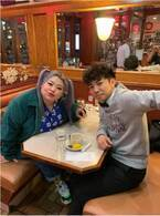 渡辺直美、NYでピース・綾部とディナー「話が尽きない尽きないww」