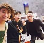 山田優、中田英寿らと久しぶりに再会「ヨンヨン あやとゆっくり話せて楽しかった」